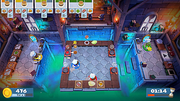 Overcooked! 2 - Screenshot INDEX