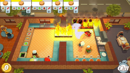 Overcooked Trailer Screenshot