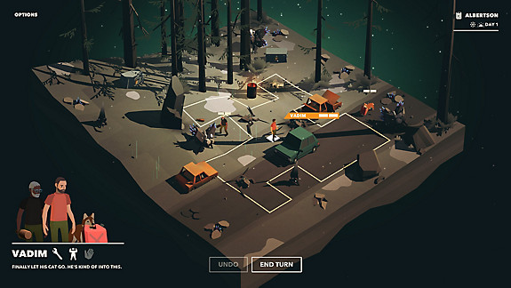 Overland - Screenshot INDEX