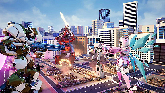 Override: Mech City Brawl screenshot