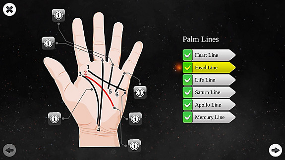 Palm Reading Premium screenshot