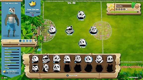 PandaBall - Screenshot INDEX