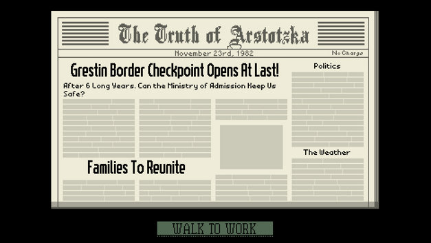 Papers, Please Screenshot 1