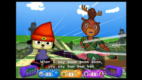 PaRappa the Rapper® 2 Trailer Screenshot