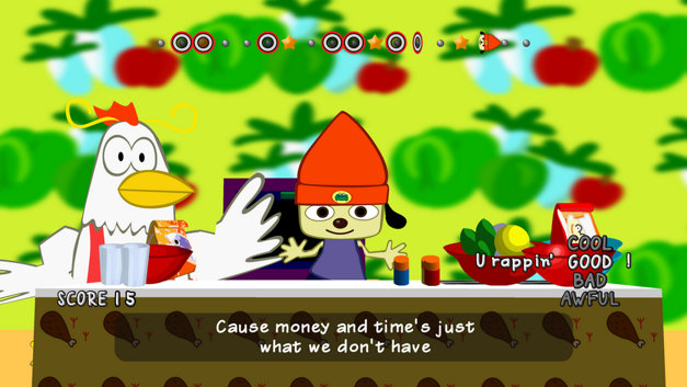 PaRappa The Rapper remasterizado Screenshot 1
