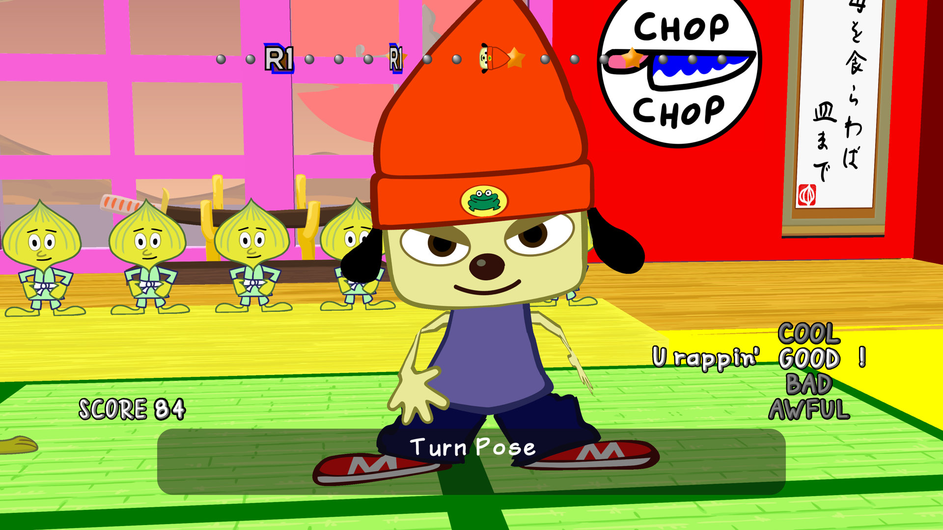 Image result for parappa the rapper 1920x1080 ps4