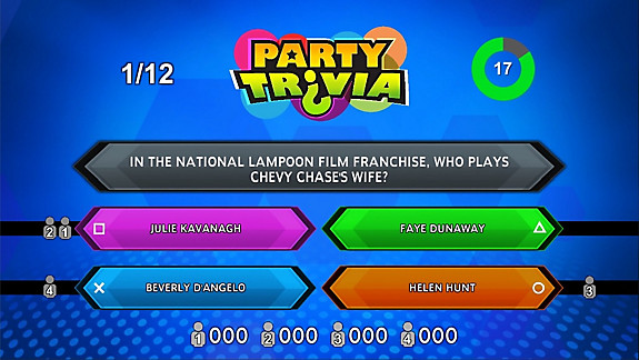 Party Trivia - Screenshot INDEX