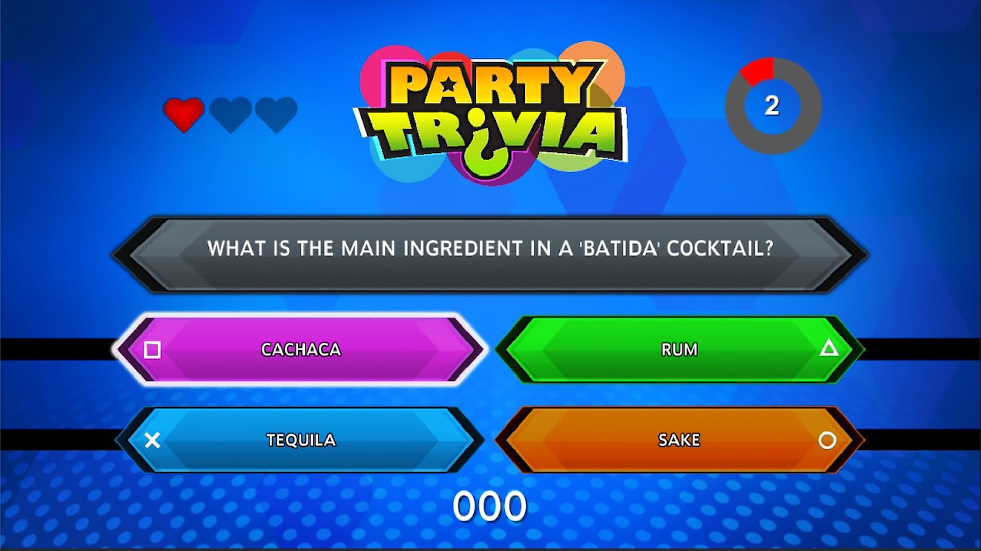 Party Trivia en acción