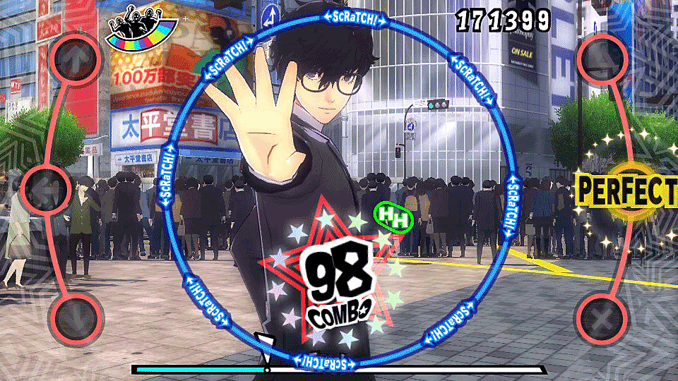 Persona 5 Dancing in Starlight PS Vita Game Banner