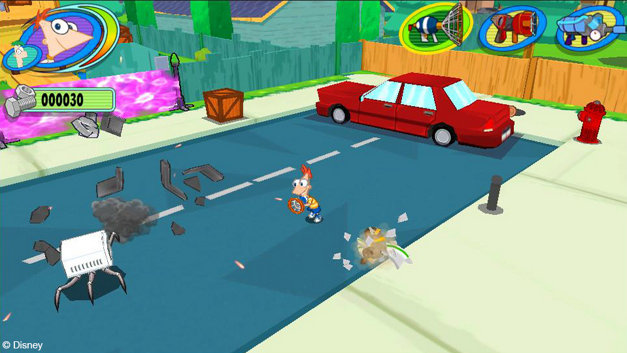 Phineas and Ferb: Day of Doofenshmirtz Screenshot 1