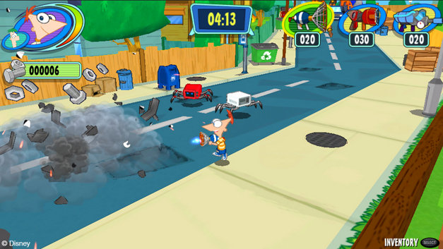 Phineas and Ferb: Day of Doofenshmirtz Screenshot 4