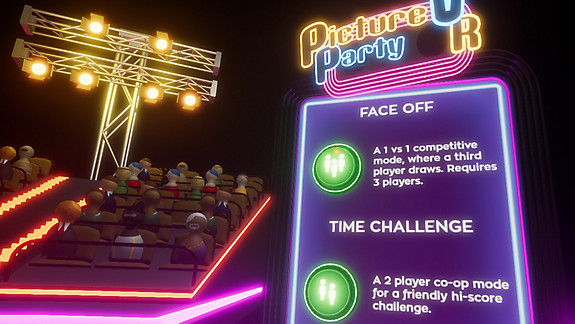Picture Party VR - Screenshot INDEX
