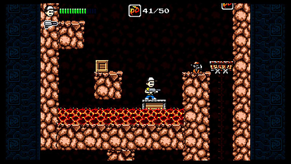 Pixel Devil and the Broken Cartridge - Screenshot INDEX