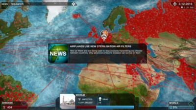 Plague Inc Evolved Game PS4 PlayStation