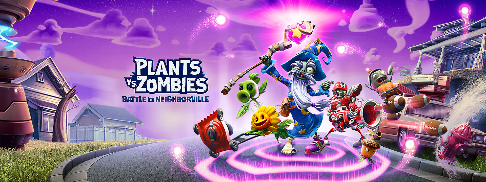 Plants Vs Zombies Battle For Neighborville Game Ps4 Playstation