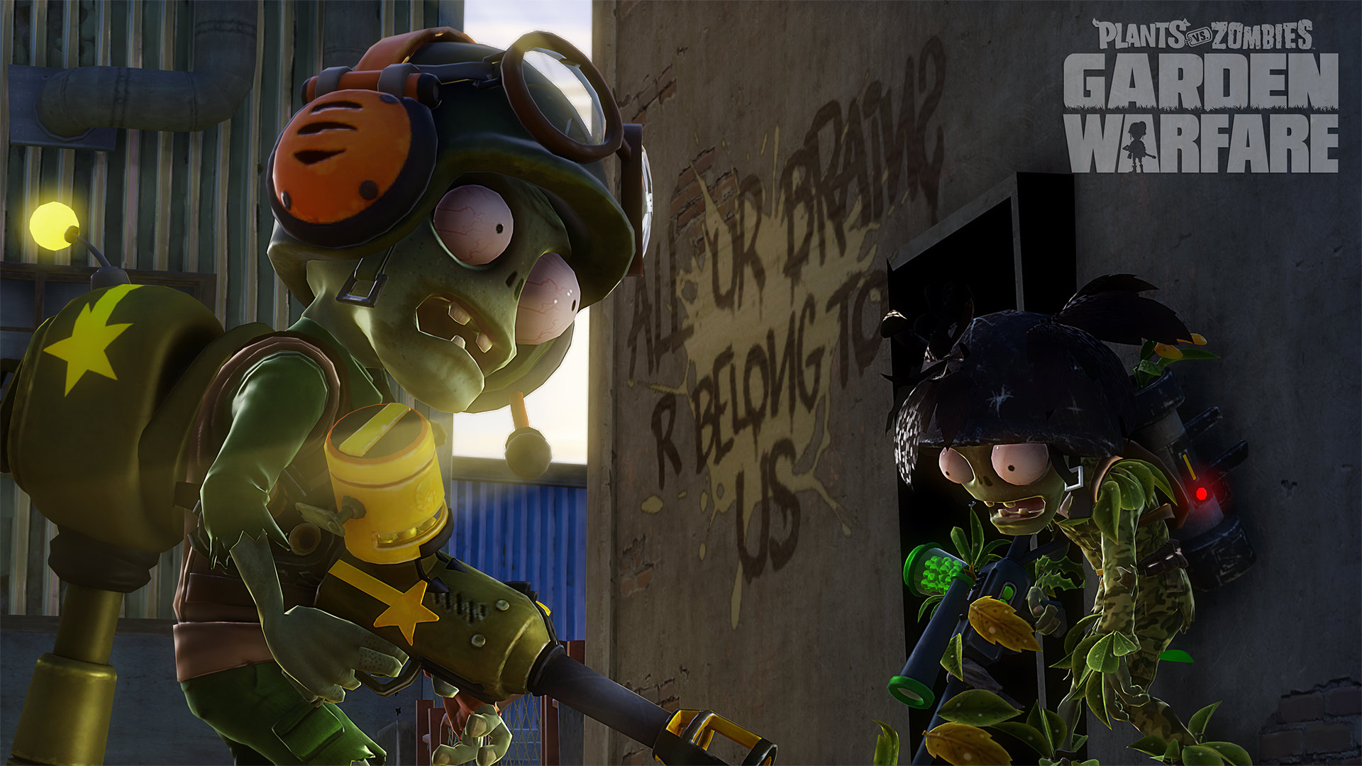 Plants vs. Zombies™ Garden Warfare Game | PS4 - PlayStation