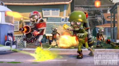 Plants vs Zombies Garden Warfare Game PS3 PlayStation