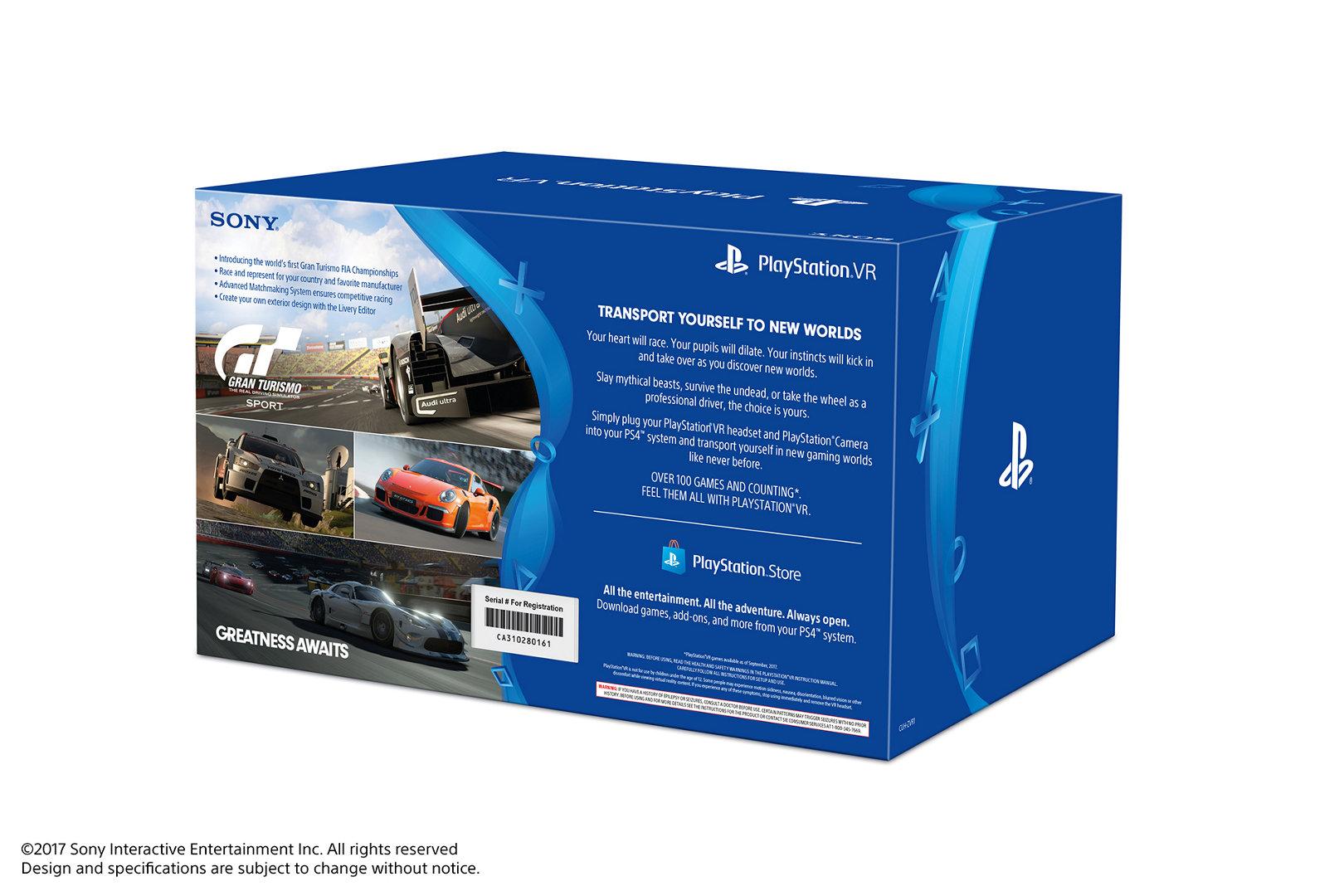PlayStation®VR Gran Turismo Sport Bundle