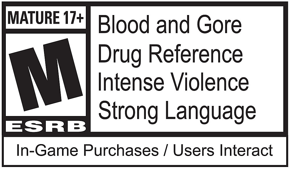 Call of Duty: Black Ops 4 ESRB Logo