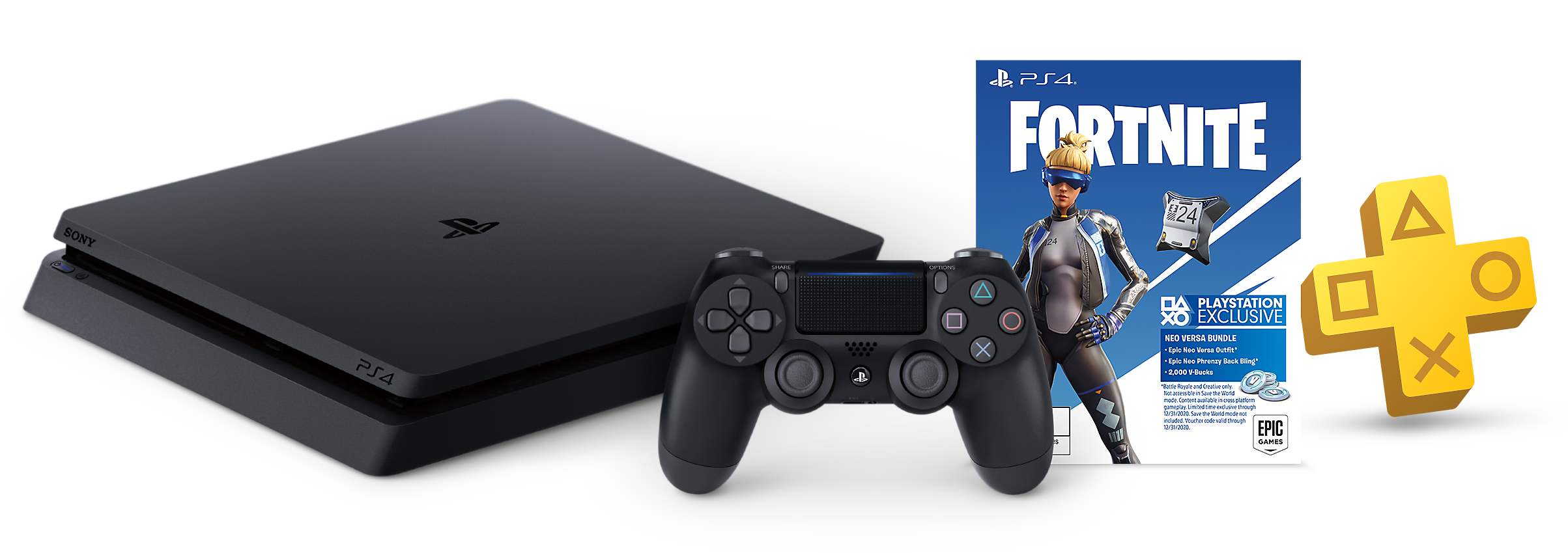 Fortnite Neo Versa Bundle for PS4