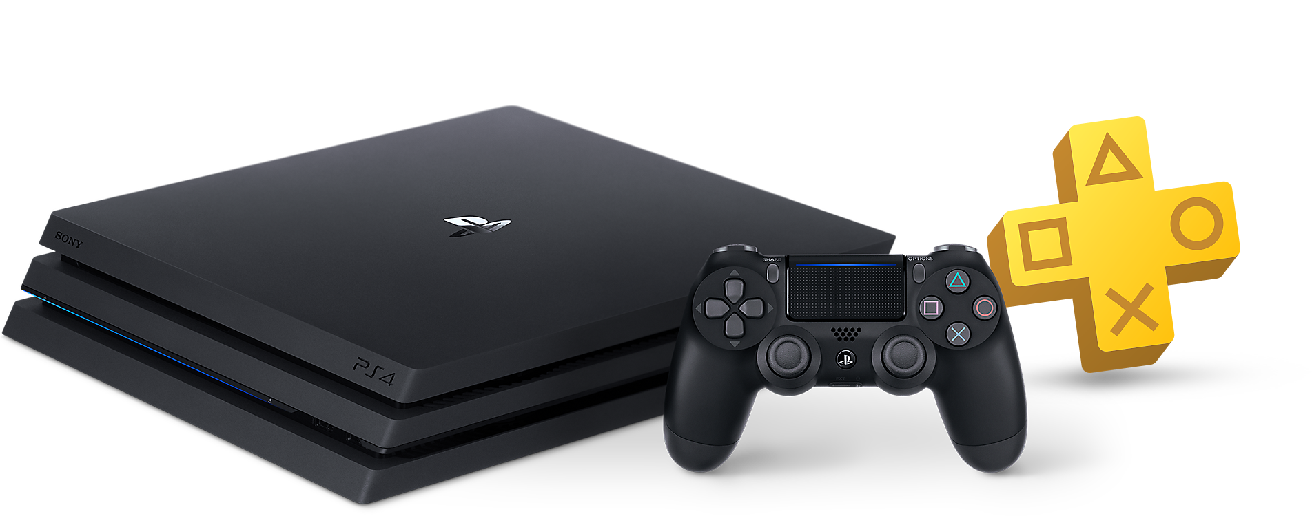 PlayStation 4 Pro and PlayStation Plus Bundle