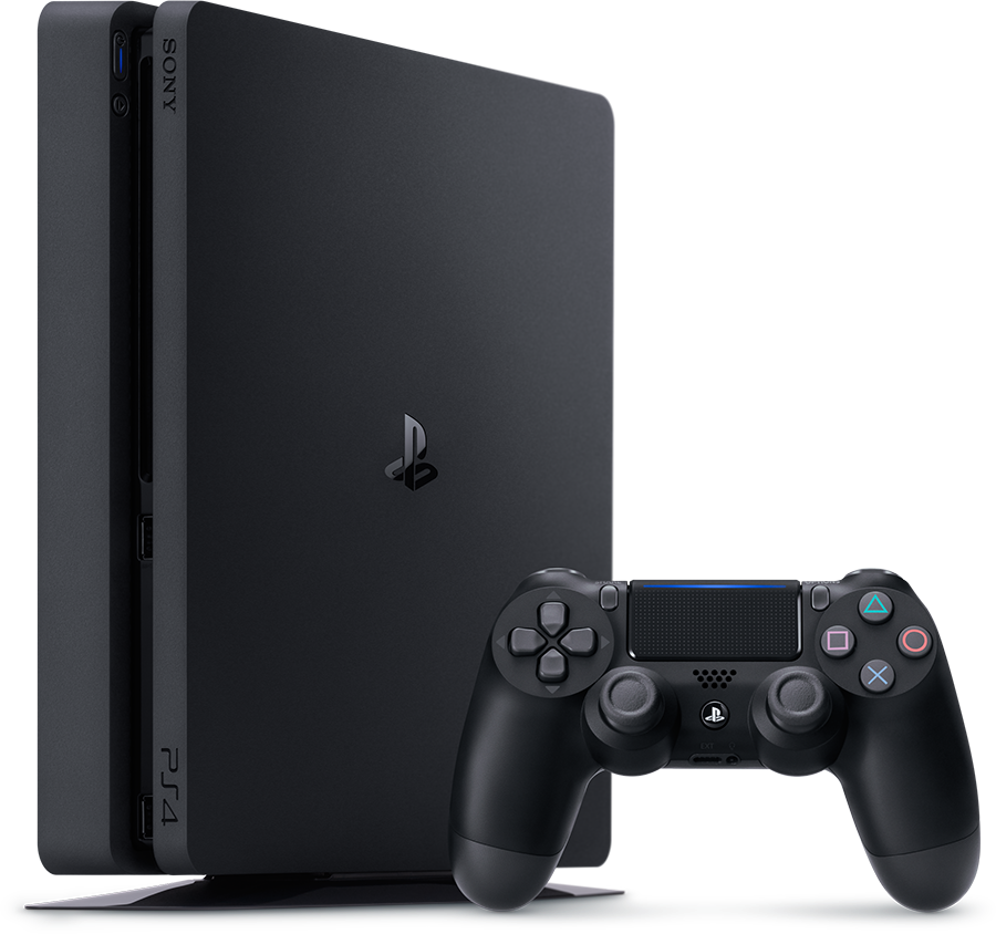 playstation 4 ps4 slim 1tb nueva a estrenar juegos 2 mandos ebay. Black Bedroom Furniture Sets. Home Design Ideas