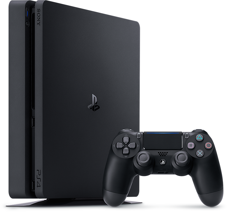 PlayStation 4 Product Shot - Vertical