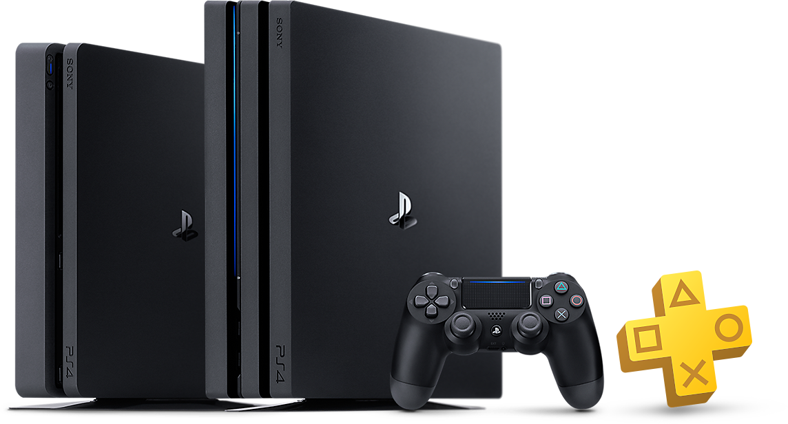 PlayStation 4 Family Product Shot