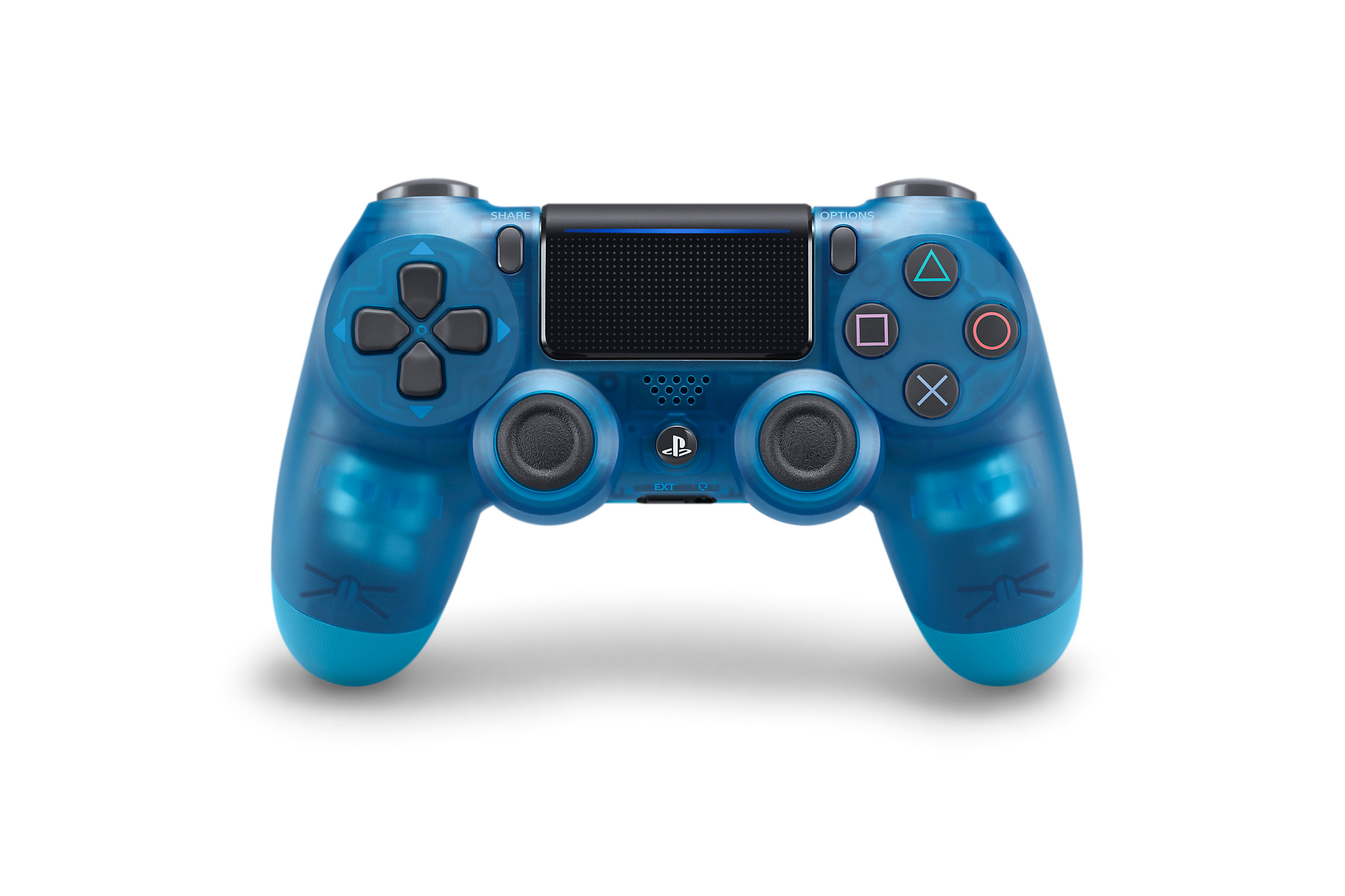 Blue Crystal DUALSHOCK 4 - PlayStation Accessories