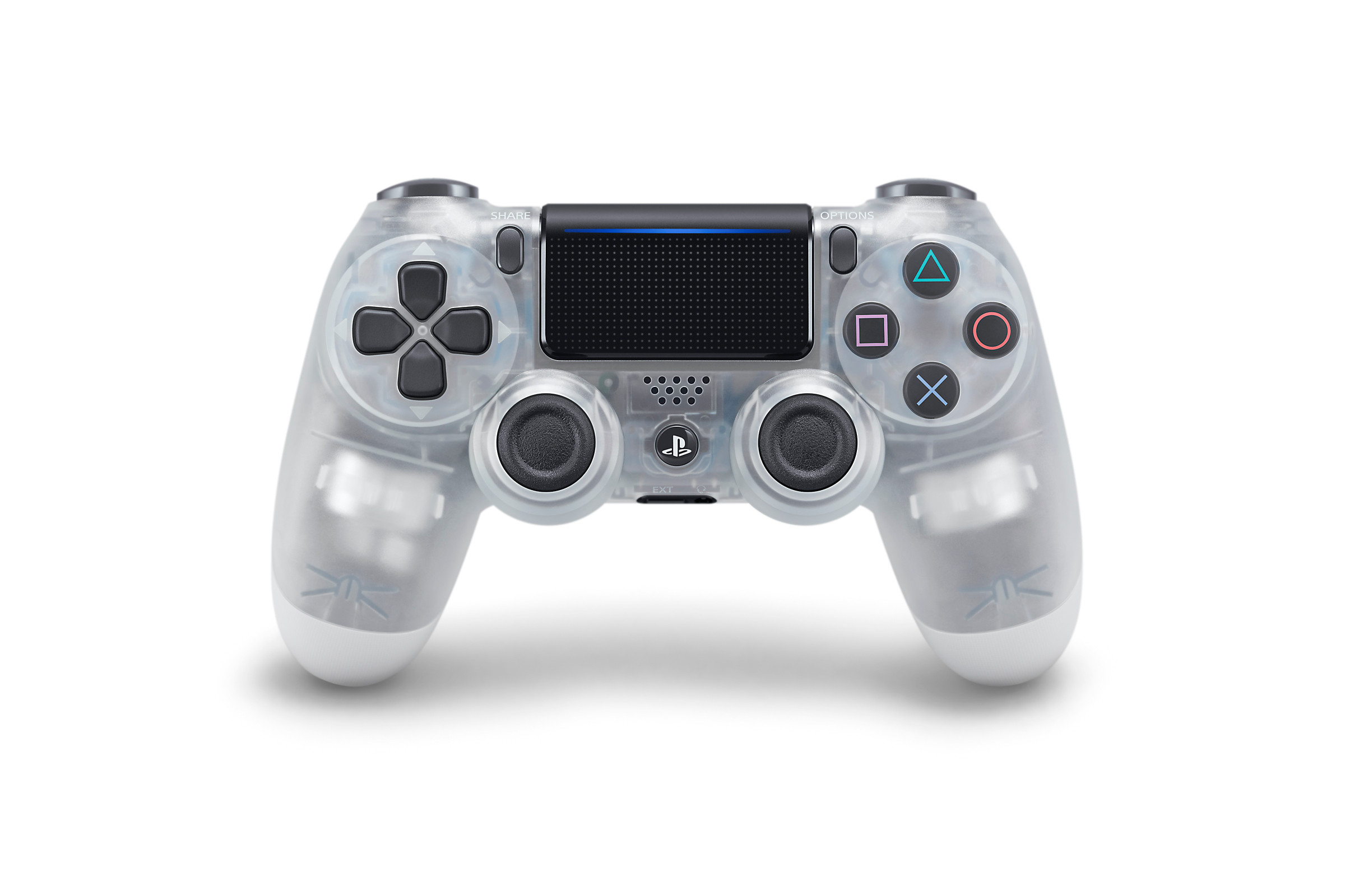 Crystal DUALSHOCK 4 - PlayStation Accessories