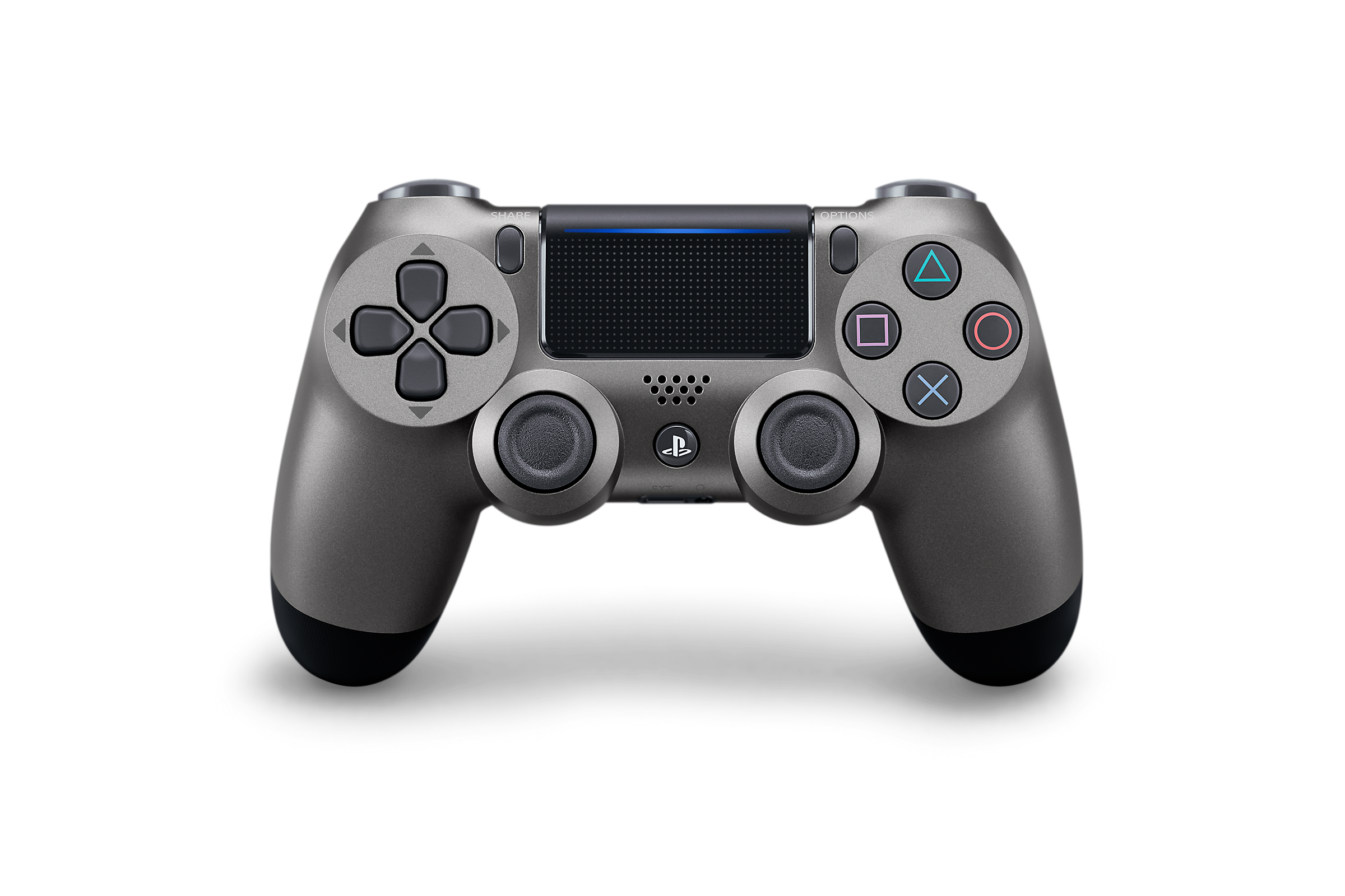 Steel Black DualShock 4 - PlayStation Accessories