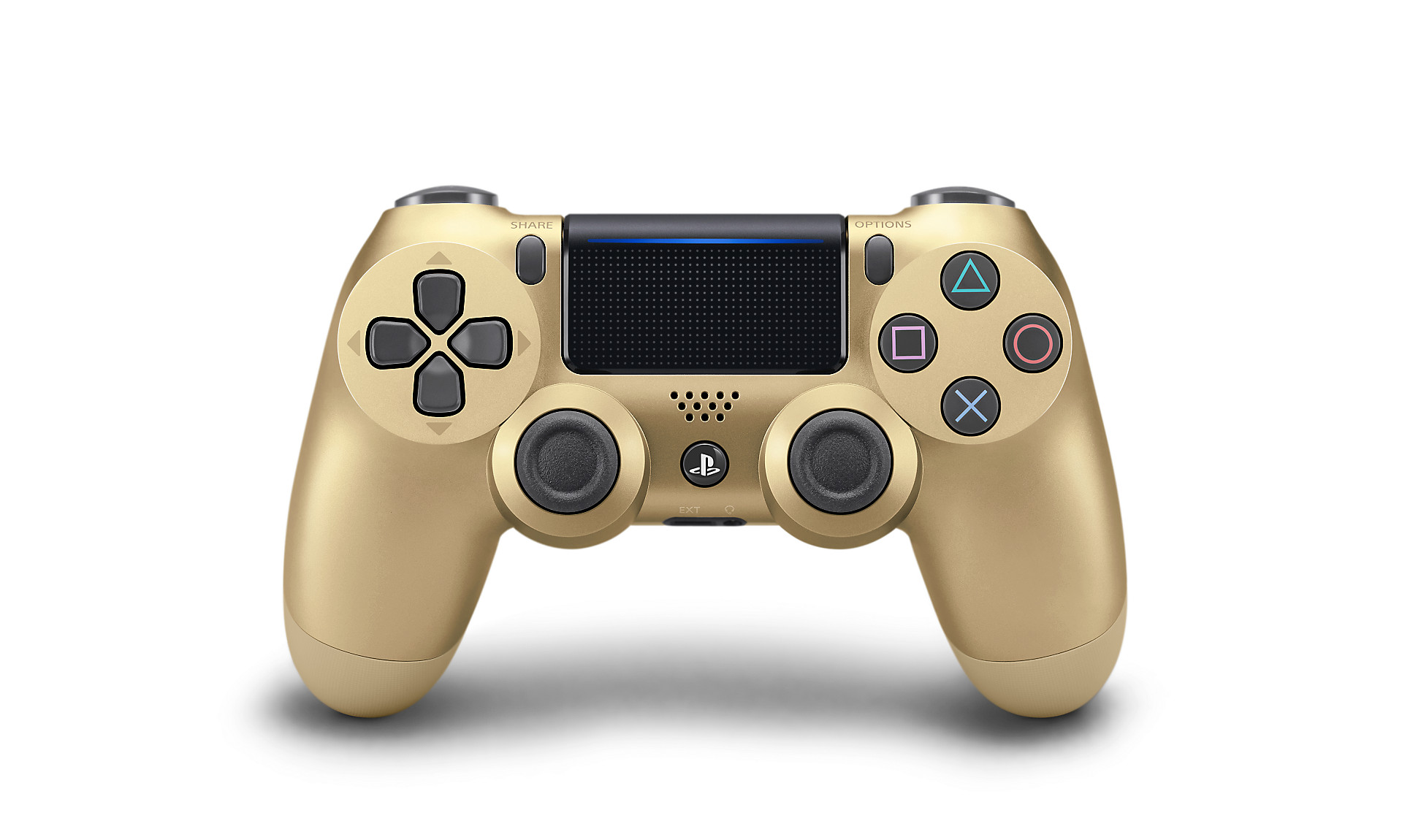 Gold DualShock 4 - PlayStation Accessories