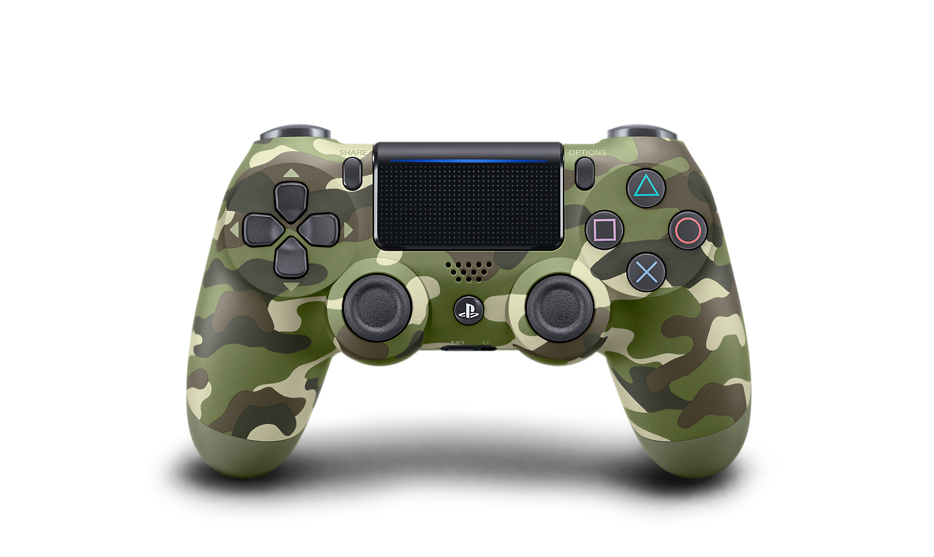 Green Camo DualShock 4 - PlayStation Accessories