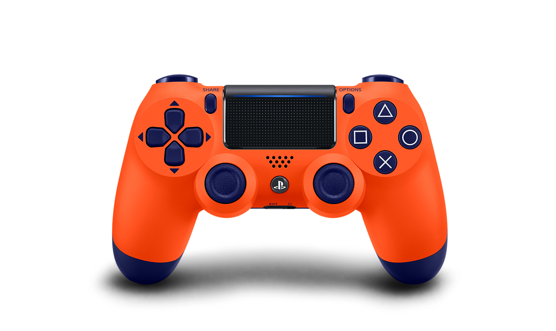 Sunset Orange DualShock 4 - PlayStation Accessories