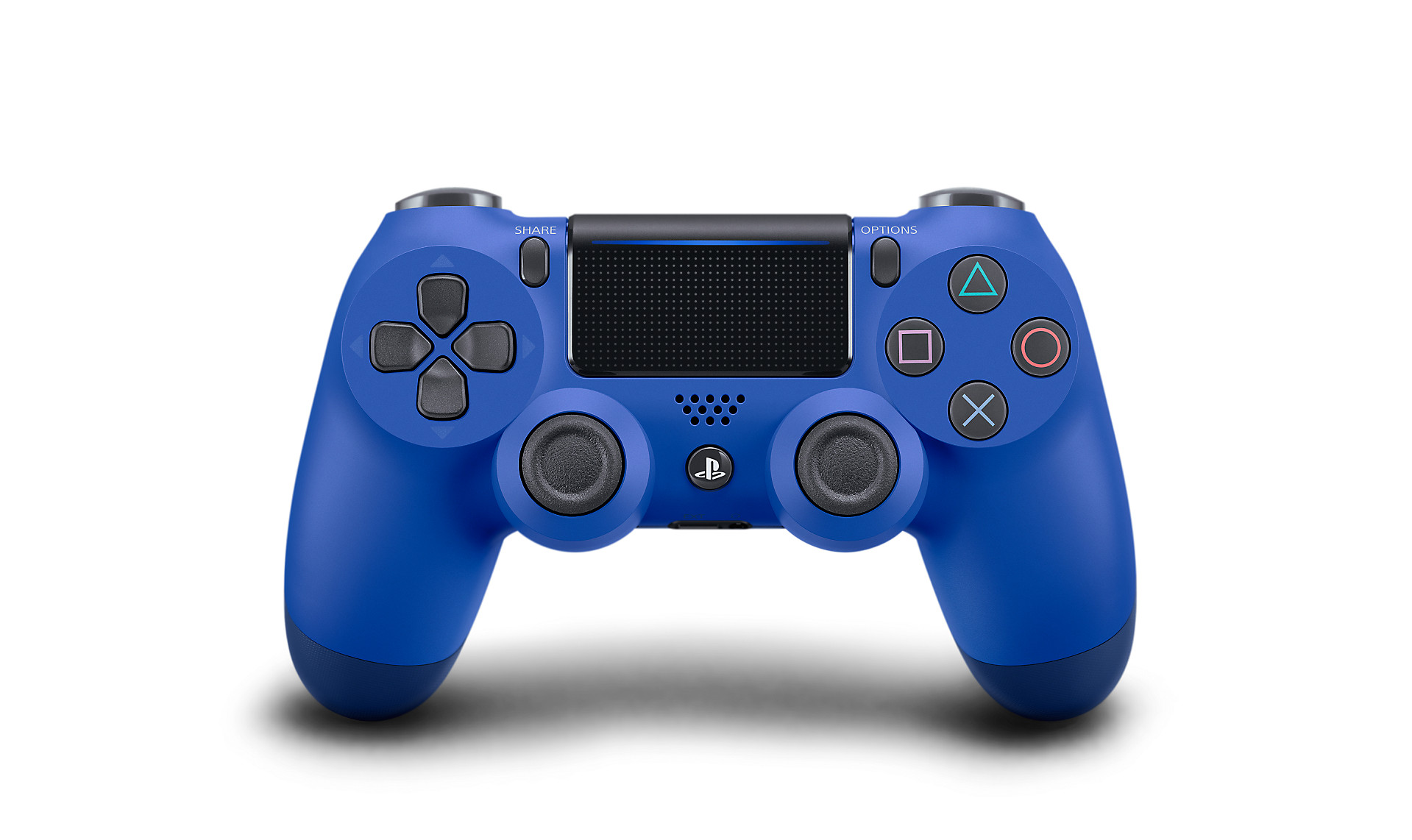 Wave Blue DualShock 4 - PlayStation Accessories