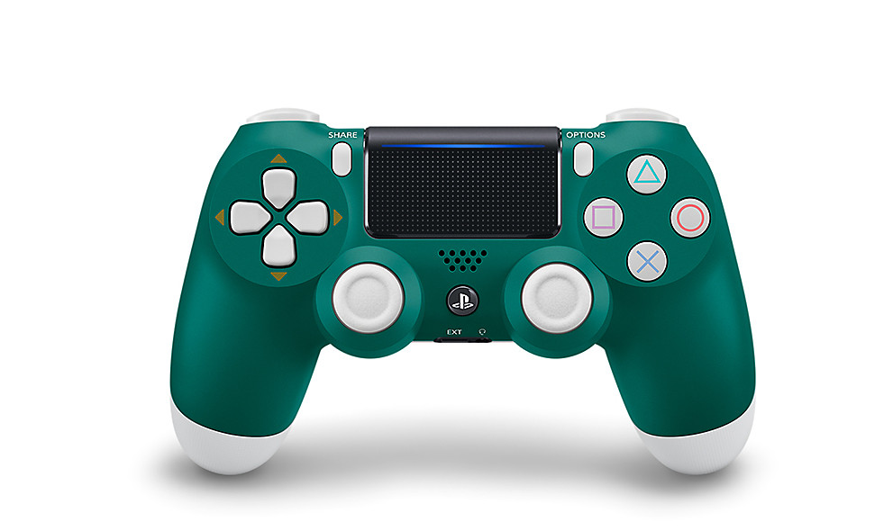 Alpine Green DUALSHOCK 4 - PlayStation Accessories