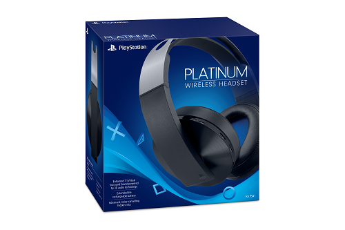 PlayStation Platinum Wireless Headset Box