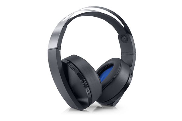 Playstation 4 Platinum Wireless Headset Gaming Headset Ps4