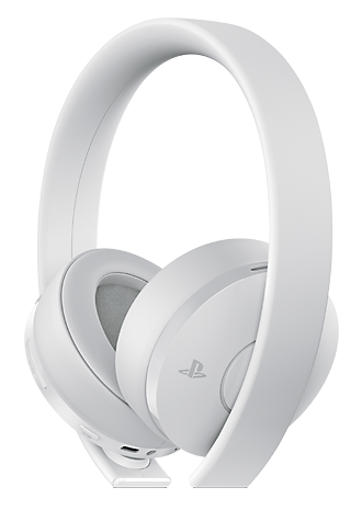 Gold Wireless Headset - White Product Shot