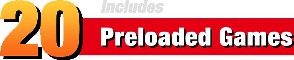 20 Preloaded Games