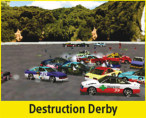 Destruction Derby Screen