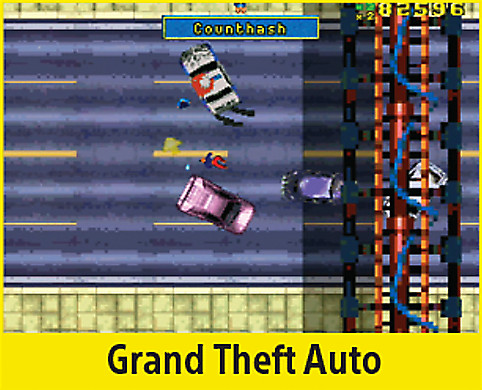 Grand Theft Auto Screen