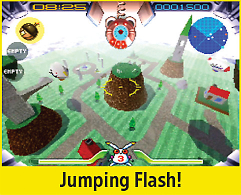 Jumping Flash! Screen