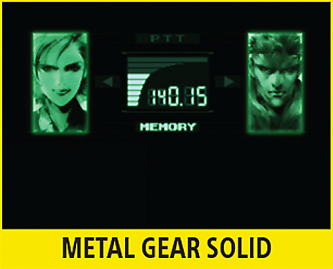 Metal Gear Solid Screen