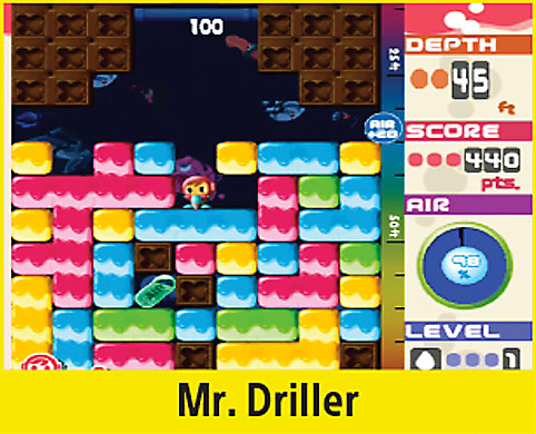 Mr. Driller Screen