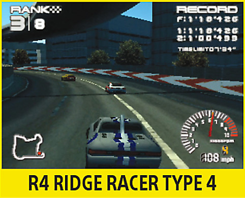 R4: Ridge Racer Type-4 Screen
