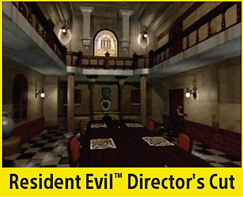 Resident Evil: Director's Cut Screen