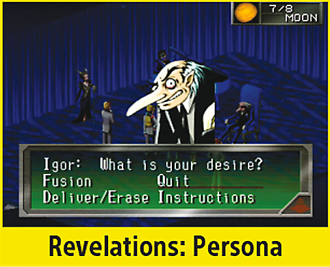Revelations: Persona Screen