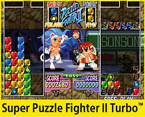 Super Puzzle Fighter II Turbo Screen