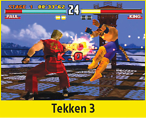 Tekken 3 Screen